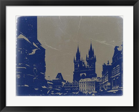 Framed Prague Old Town Square Print