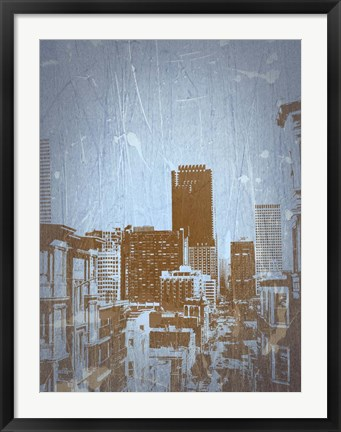 Framed San Francisco 2 Print