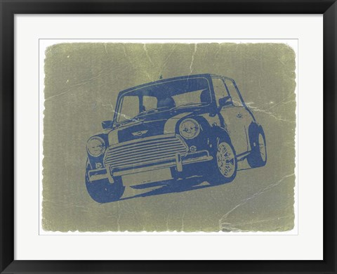 Framed Mini Cooper Print