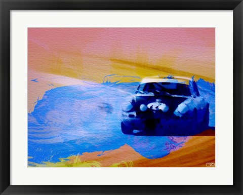 Framed 911 On The Racetrack Print