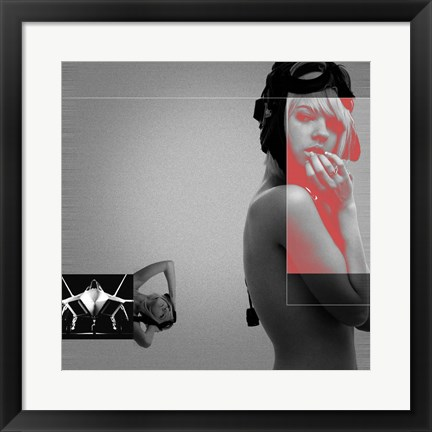 Framed Aviator 2 Print
