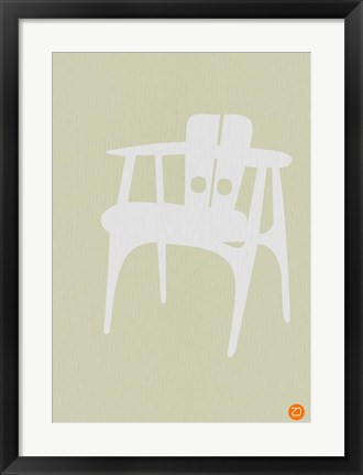 Framed Wooden Chair Print