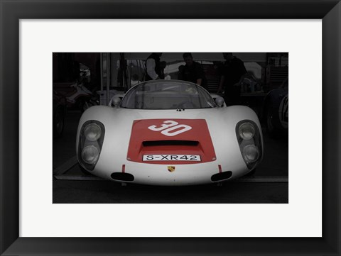 Framed Racing ready Print