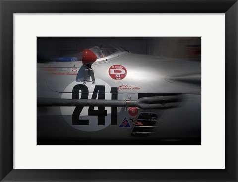 Framed Raing Decal Graphics Print
