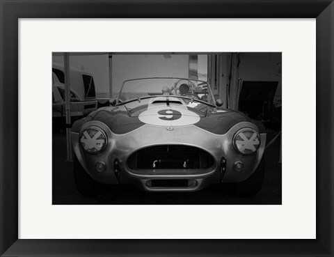 Framed Ford 427 Cobra Print