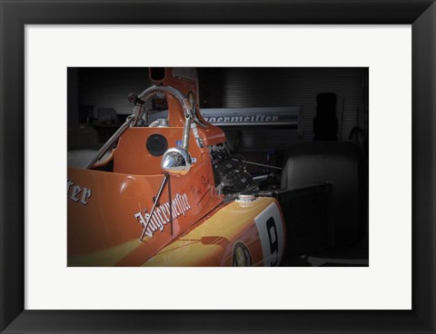 Framed Racing Detail Print
