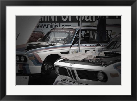 Framed BMW M Racing Team Print