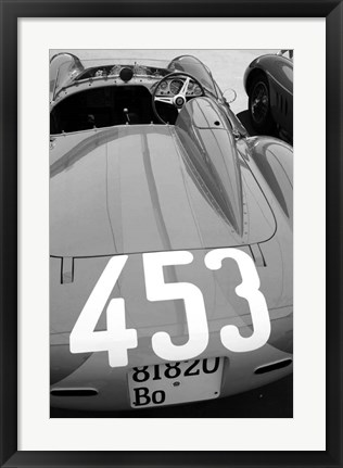 Framed Ferrari Back Print