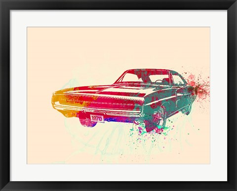 Framed 1967 Dodge Charger 1 Print