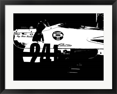 Framed Laguna Seca Racing Cars 2 Print