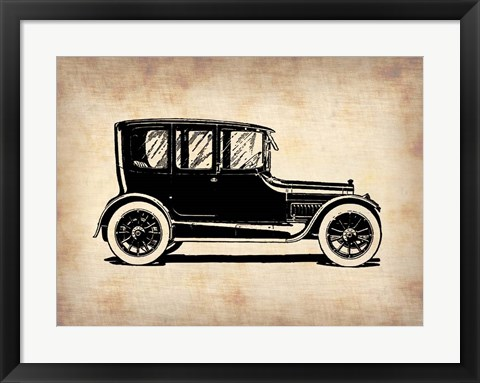 Framed Classic Old Car 1 Print