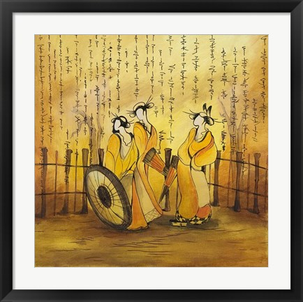 Framed Japanese Dreams 2 Print