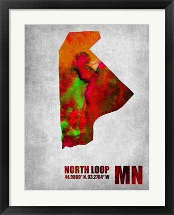 Framed North Loop Minnesota Print