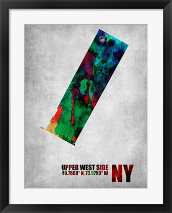 Framed Upper West Side New York Print
