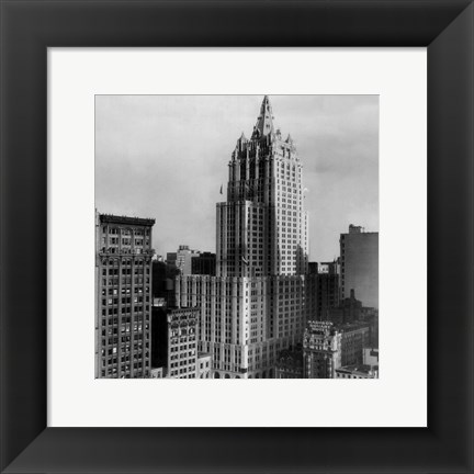 Framed New York Life Insurance Building Print