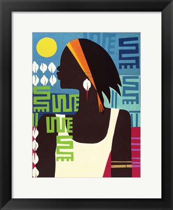 Framed Virtuous Woman Print
