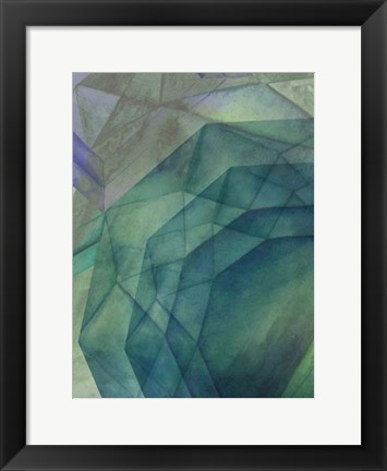 Framed Gemstones II Print