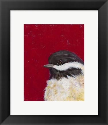 Framed Bird Portrait II Print