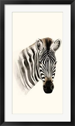 Framed Safari Portrait II Print