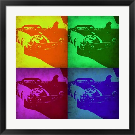 Framed Racing Ferrari Pop Art 1 Print