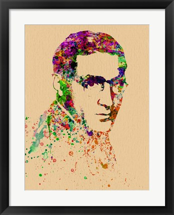 Framed Benny Goodman Watercolor Print