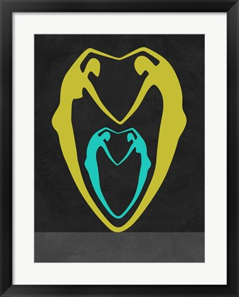 Framed Couple Heart Print