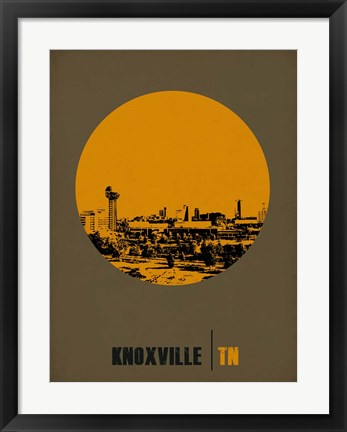 Framed Knoxville Circle 2 Print