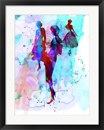 Framed Fashion Models 7 Print