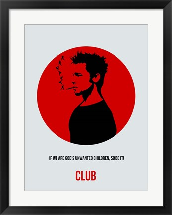Framed Club 2 Print