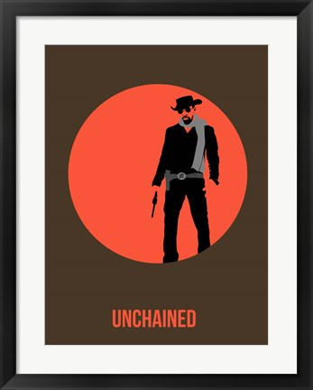Framed Unchained 1 Print