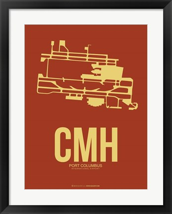 Framed CMH Port Columbus 1 Print