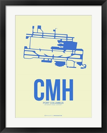 Framed CMH Port Columbus 2 Print