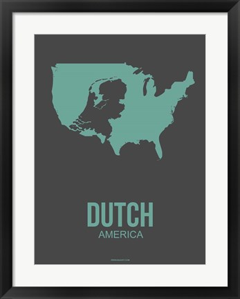 Framed Dutch America 2 Print