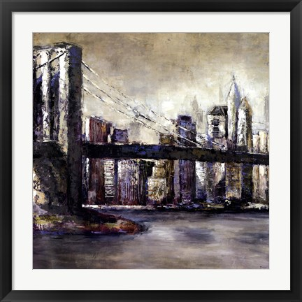 Framed City Landmark II Print