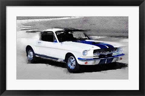 Framed Ford Mustang Shelby Print