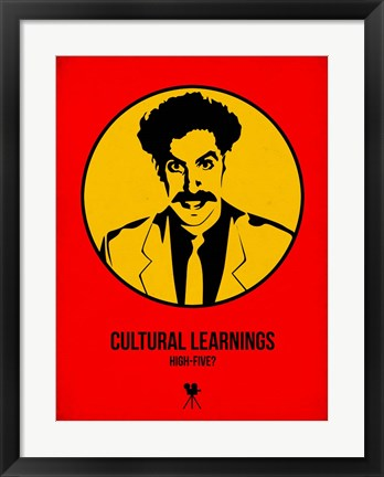 Framed Cultural Learnings 2 Print