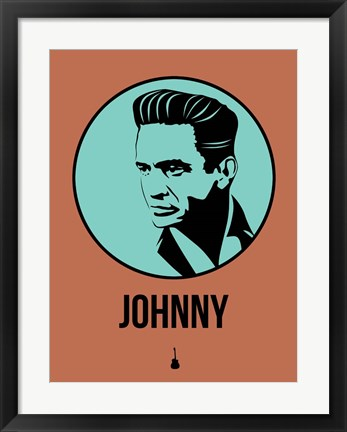 Framed Johnny 1 Print