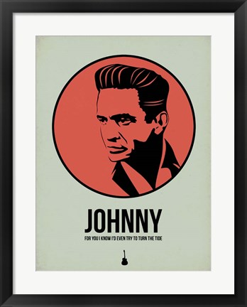 Framed Johnny 2 Print