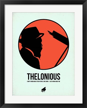 Framed Thelonious 1 Print