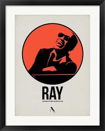 Framed Ray 1 Print