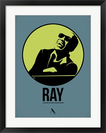 Framed Ray 2 Print