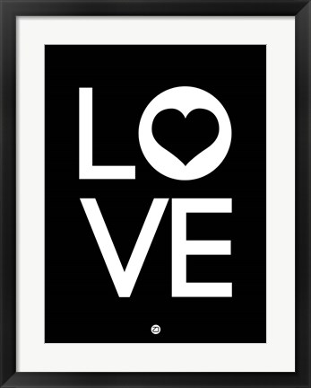 Framed Love 3 Print