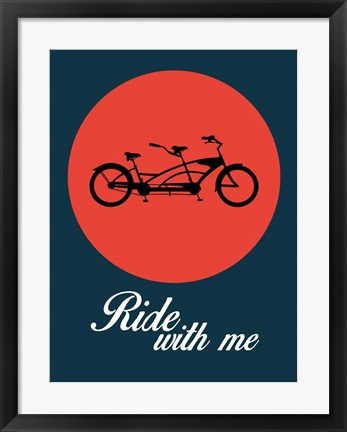 Framed Ride With Me 1 Print