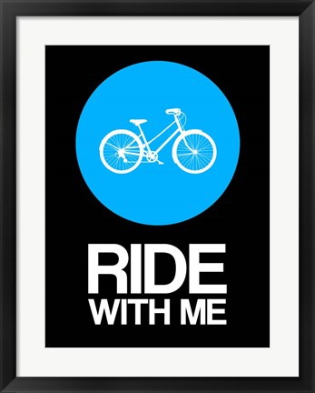 Framed Ride With Me Circle 2 Print