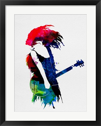 Framed Taylor Watercolor Print