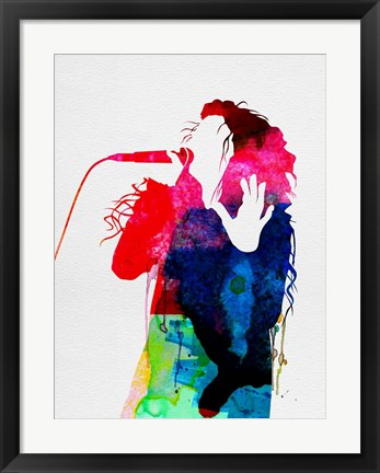 Framed Lorde Watercolor Print