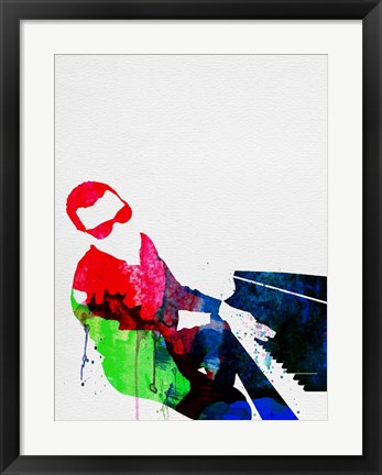 Framed Ray Watercolor Print