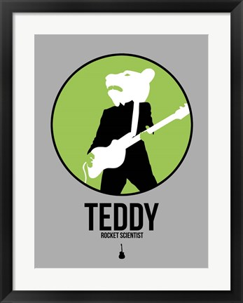 Framed Teddy Print