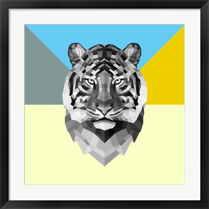 Framed Party Tiger Print