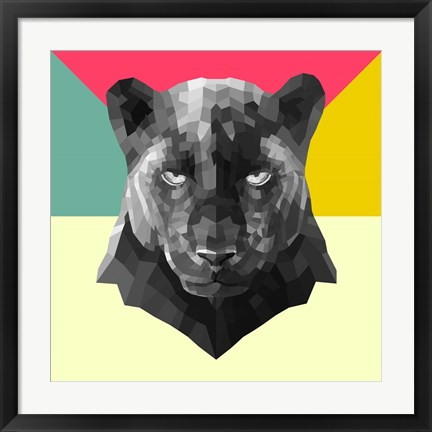 Framed Party Panther Print